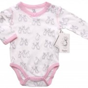 Body kaniner rosa newborn Walking bambu (50)